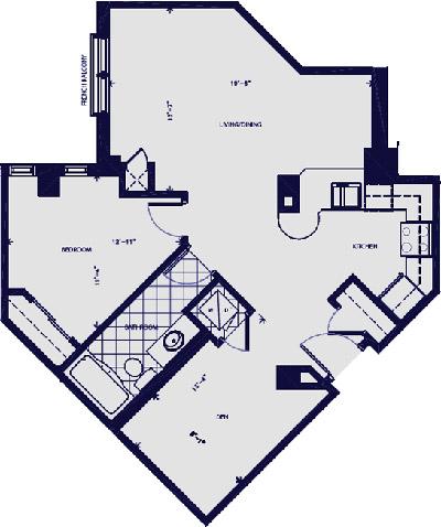 The victoria suite condominium rentals hamilton for Floor plans victoria bc
